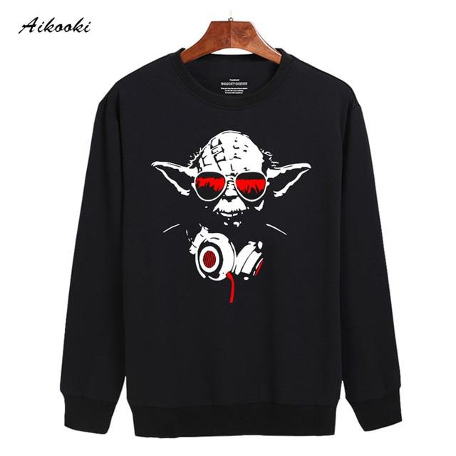Master Yoda In Red Star Wars Men Sweatshirt