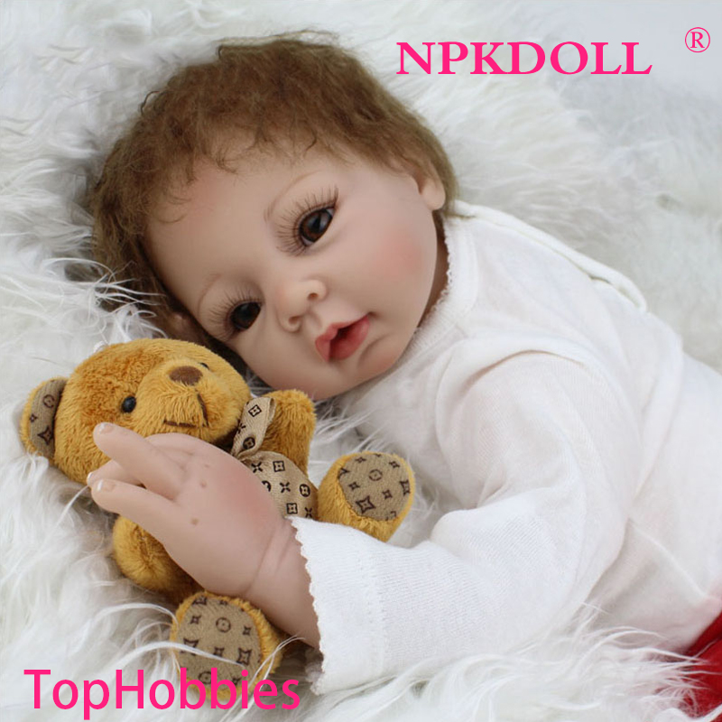 G159 22 inches 55CM Doll Reborn For Sale Soft Toys Silicone Reborn Babies Girls Play House Toys Lifelike Doll Newborn Babies 55cm smile silicone reborn babies doll alive toys girls cute lifelike for children present