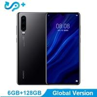Глобальная версия P30 мобильного телефона 6,1 дюйма OLED Экран 6 ГБ Оперативная память 128 GB Встроенная память Поддержка нм карты памяти OTG с двойн