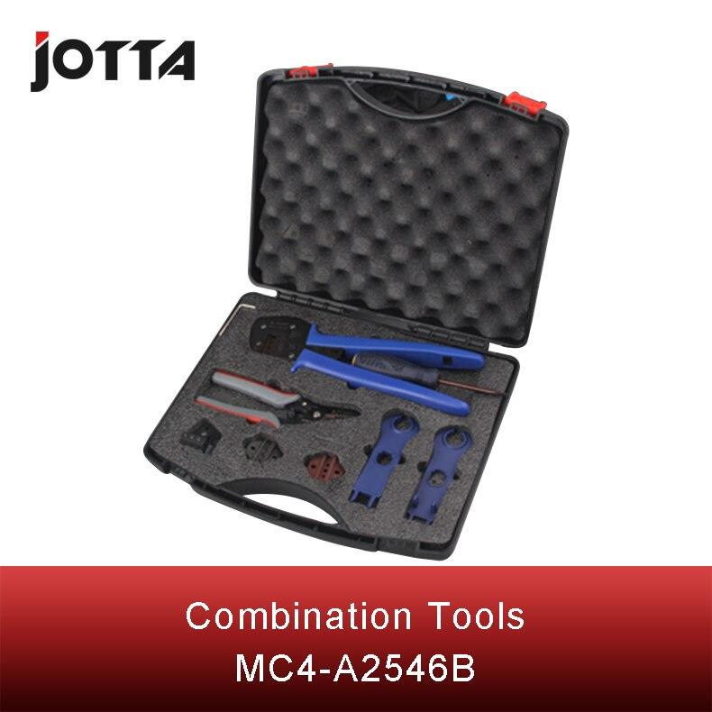 Купить с кэшбэком MC4-A2546B multifunctional photovoltaic connection set of tools multiple tool hot sale best quality 2016 year bestseller