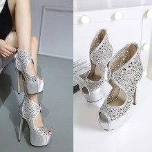 Red Bottom High Heels Shoes Woman Chaussure Femme Talon Wedding Ladies Extreme Paten Sapato De Noiva Dames Schoenen Wedges Shoe