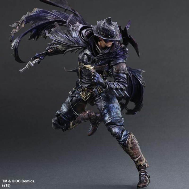 ФОТО Wolves World Playarts KAI Batman Timeless Wild West Brinquedos PVC Action Figure Collectible Model Doll Kids Toys PA0018