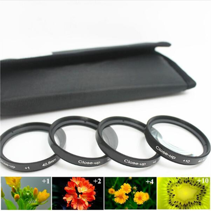 37 40.5 43 46 49 52 55 58 62 67 72 77 82mm +1+2+4+10+Bags lens Close Up Close-up Macro Kit filter For Pentax Sony Canon Nikon