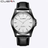 Watch Men Fashion Men Casual Checkers Faux Leather Quartz Analog Wrist Watch Relogio Masculino Dropshipping Perfect