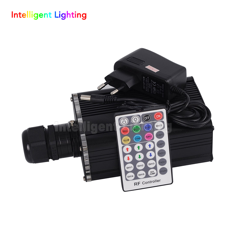 Wholsale Flashing 16W RGBW LED Fiber Optic Engine Driver + 28key RF Remote controller for all kinds fiber optics 2016 new rgbw 16w led fiber optic engine driver with 28key rf remote controller for all kinds fiber optics