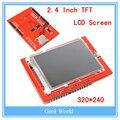 Módulo de LCD TFT 2.4 tela da polegada TFT LCD para Arduino UNO R3 Conselho e apoio 2560 mega