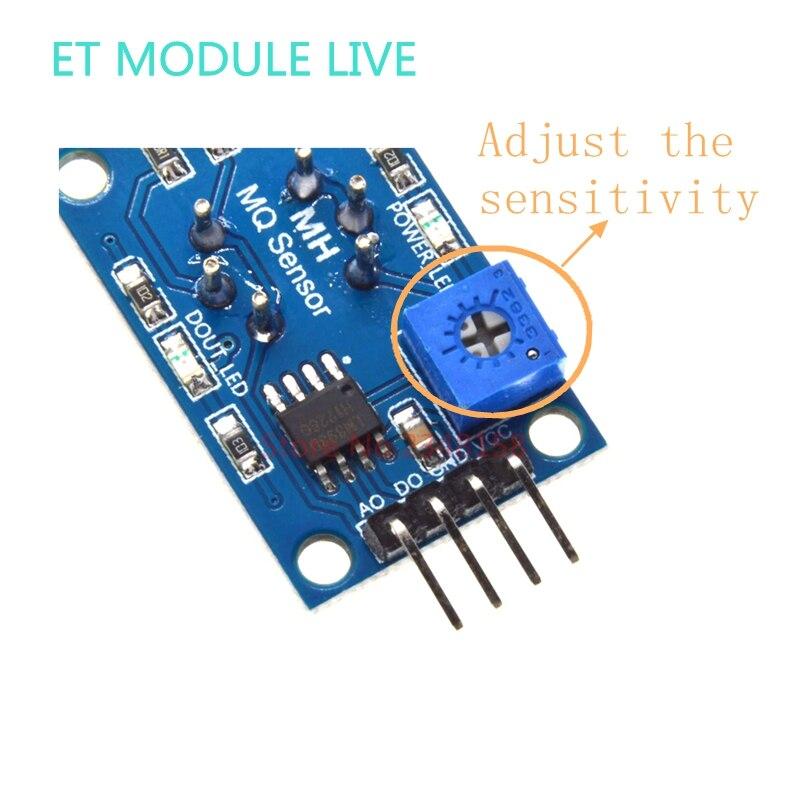 MQ-4 Natürlich Gas Methan Detektor Detection Sensor Für Arduino