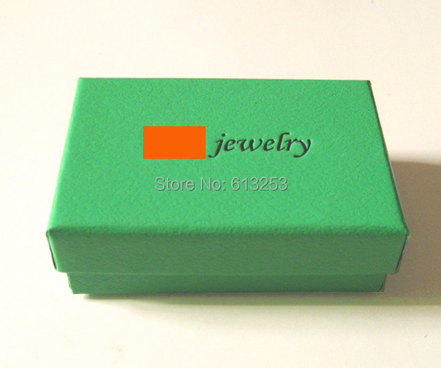 Us 185 0 Custom Made Mint Green Jewelry Box Free Printing Own Logo Fashion Earrings Necklace Boxes Wholesale Gift Box Id Sfjb11g In Jewelry