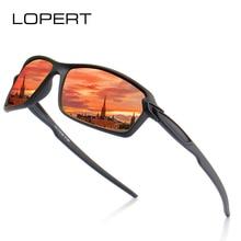 LOPERT  Sunglasses Men Polarized Vintage Mens Brand Designer Sun Glasses For Driving Sport Goggles UV400