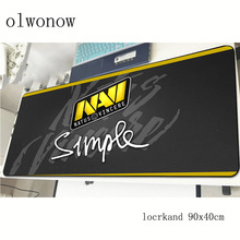 navi mousepad 90x40cm best gaming mouse pad gamer mat Christmas gifts game computer desk padmouse keyboard