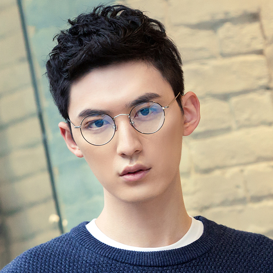 9b744c23c Vazrobe Small Round Glasses Men Women Vintage Eyeglasses Frames for optical  lens prescription spectacles metal black circle nerd-in Men's Eyewear  Frames ...