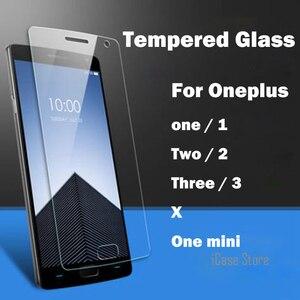 Экран протектор для Oneplus One один, два, три X Закаленное Стекло для One Plus 1 2 3 A0001 A2001 закаленное взрывоустойчивое стекло