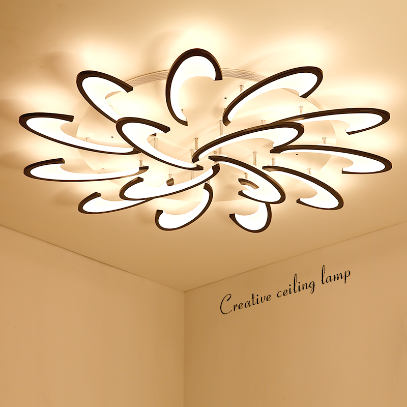 Modern LED Ceiling Lights for Living room Bedroom luminaire plafonnier Lampara de techo Modern Ceiling lamp Fixtures ...