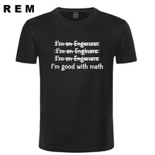 Engineer Mens T-shirt Good With Math tshirt shirt funny typography Womens Husband gift t-shirt More Size and Colors