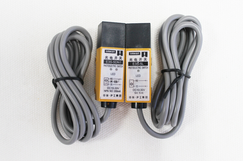 E3S-5DP2-5L PNP NC DC Photoelectric Sensor Switch Detection Distance 5M dp 101 m sensor mr li