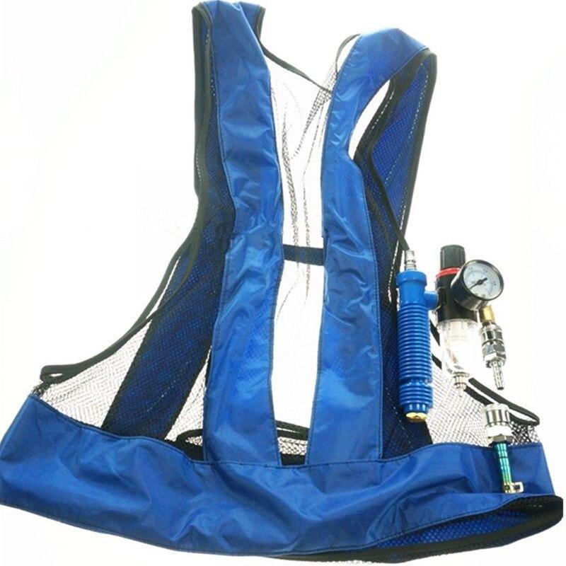 Vortex Tube Air Conditioner Waistcoat Welding Steel Vest TU-shop