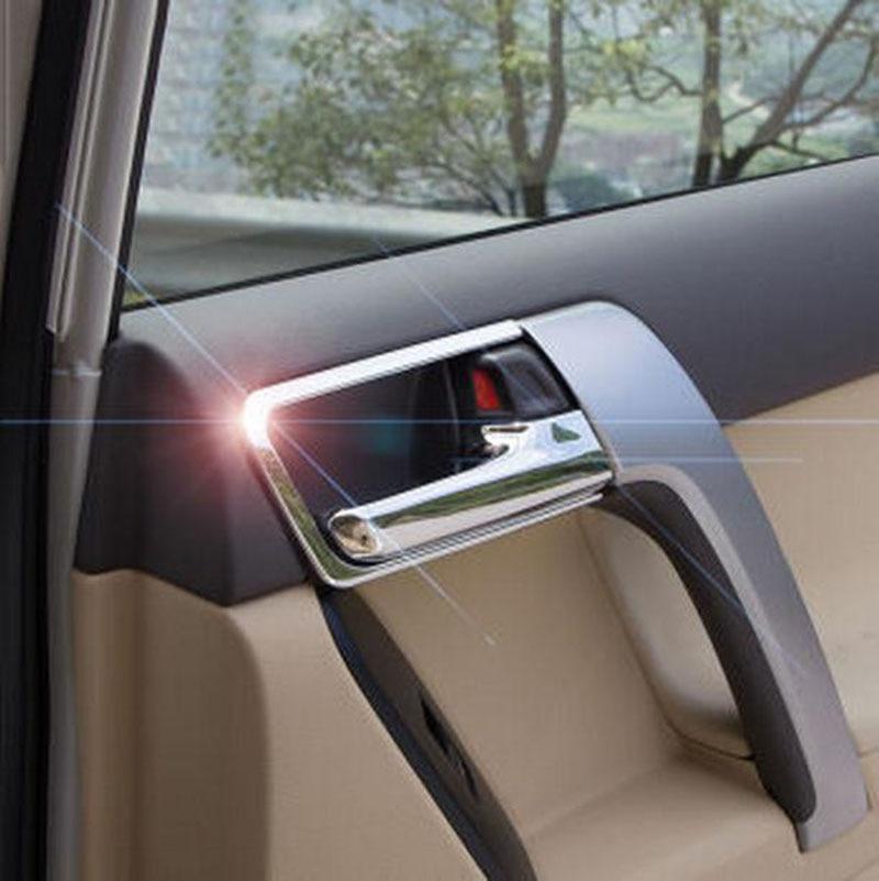 for toyota land cruiser prado fj 150 2014 2015 chrome car interior door handle cover trims. Black Bedroom Furniture Sets. Home Design Ideas