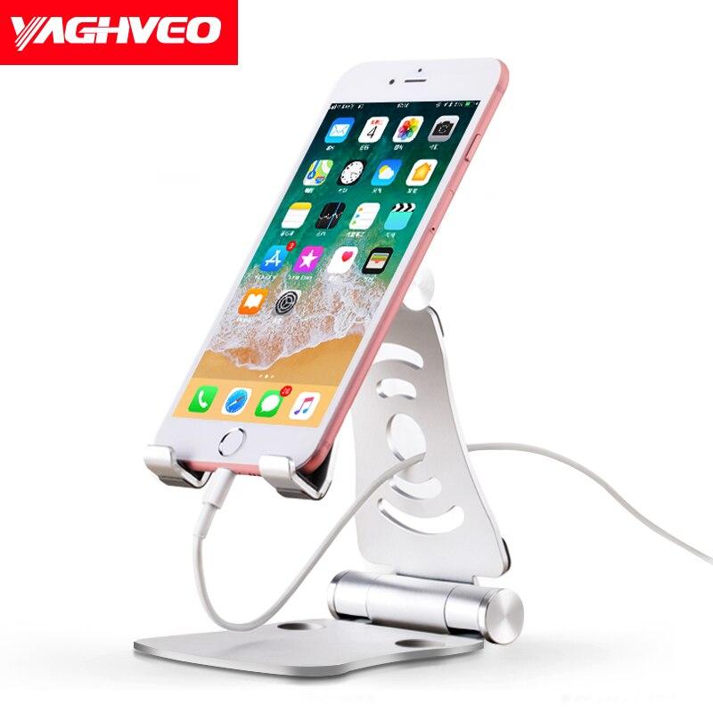 Tablet téléphone holder bureau de stand Réglable Pour iPad iPhone Pour Smartphone titulaire Métal Comprimés téléphone Stand Support