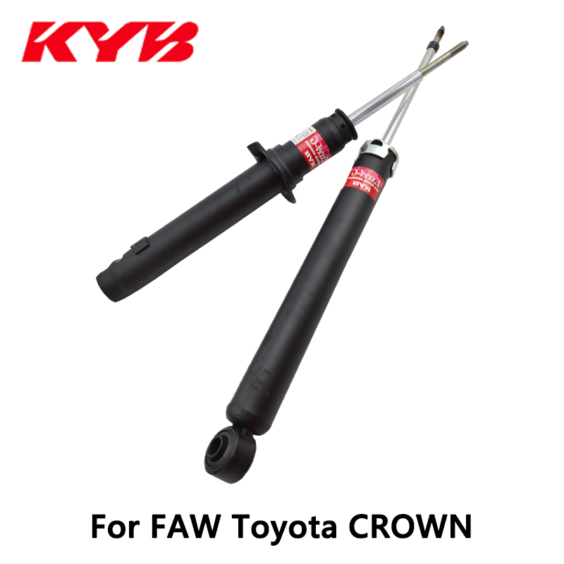 KYB rear car shock absorber 551114 EXCEL-G inflatable for FAW Toyota CROWN auto part kyb car left rear shock absorber 339217 for toyota highlander auto parts