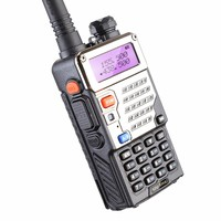 2pcs Baofeng UV 5RE Radios VHF UHF Update Version Of Baofeng UV 5R Power 5w 1800mAh