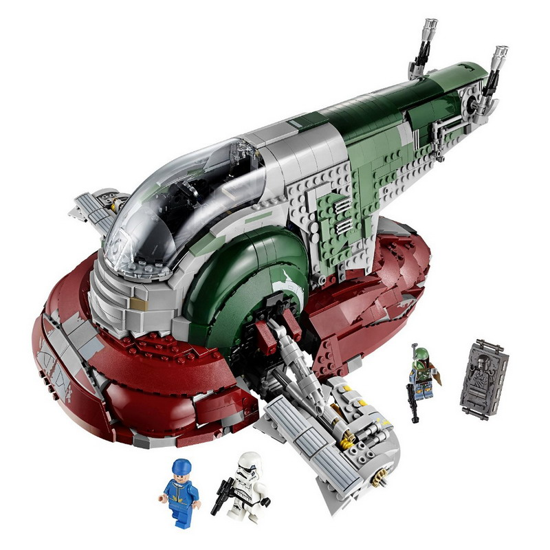 05037 LEPIN 2067Pcs Star Wars Slave I Model Building Blocks Classic Enlighten DIY Figure Toys For Children Compatible Legoe decool 3117 city creator 3 in 1 vacation getaways model building blocks enlighten diy figure toys for children compatible legoe