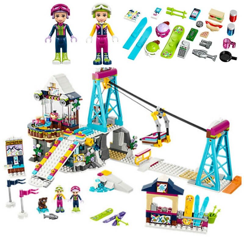 New Legoe 01044 Friends Girl Series Building Blocks Compatible Friends 41015 Toys Dolphin Cruiser kids Bricks 2017 new aiboully 10170 friends series girls housework time panorama minis set building blocks girl toys compatible with 3185