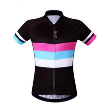 Spring and summer Sports Women Short Sleeve Cycling Jerseys Bike Bicycle Jersey Quick-dry Outdoor Sports Shirt,