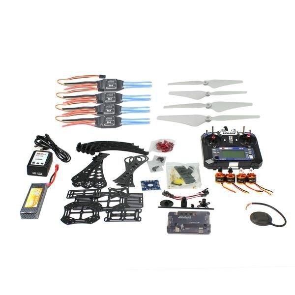 F14893-L DIY Радиоуправляемый Дрон Квадрокоптер полный набор RTF X4M380L кадров Комплект APM 2,8 gps TX