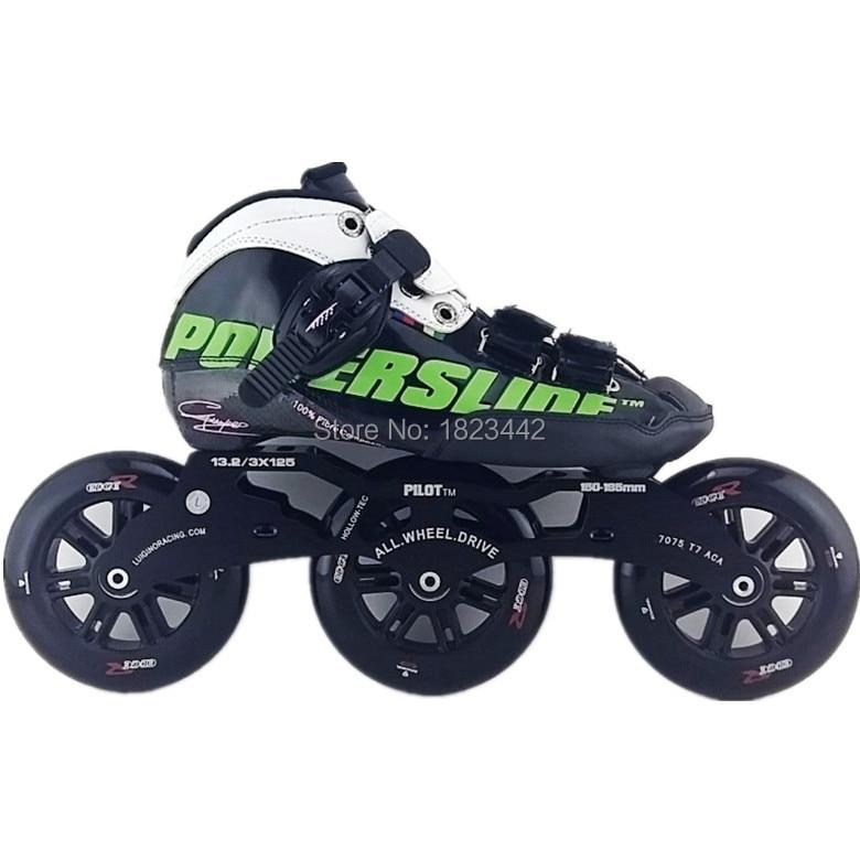 Powerslide C6 skating font b shoes b font carbon fiber skate font b shoes b font