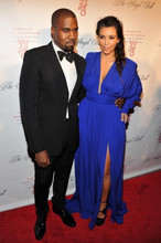 2014 Hot Sell Sexy V Neck Pleat Plus Size Kim Kardashian Dresses Red Carpet Long Party Special Occasion Celebrity Dress
