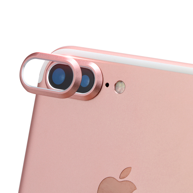 on sale 170fa 9ab8a US $5.0 |Back Metal Camera Lens Protective Protector Guard Cover For iphone  7 plus 7plus ring protection Mobile Phone Accessories 10PCS-in Fitted ...