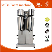 Commercial Stainless Steel Milk Shake Machine Double Head Mixer Blender Make Milks Foam/Milkshake Bubble Tea Machine