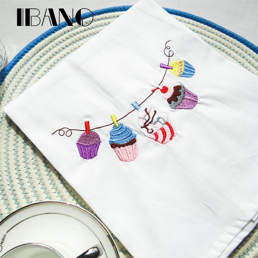 2 unids/lote algodón Navidad boda servilleta plato toalla 45x70 cm ...