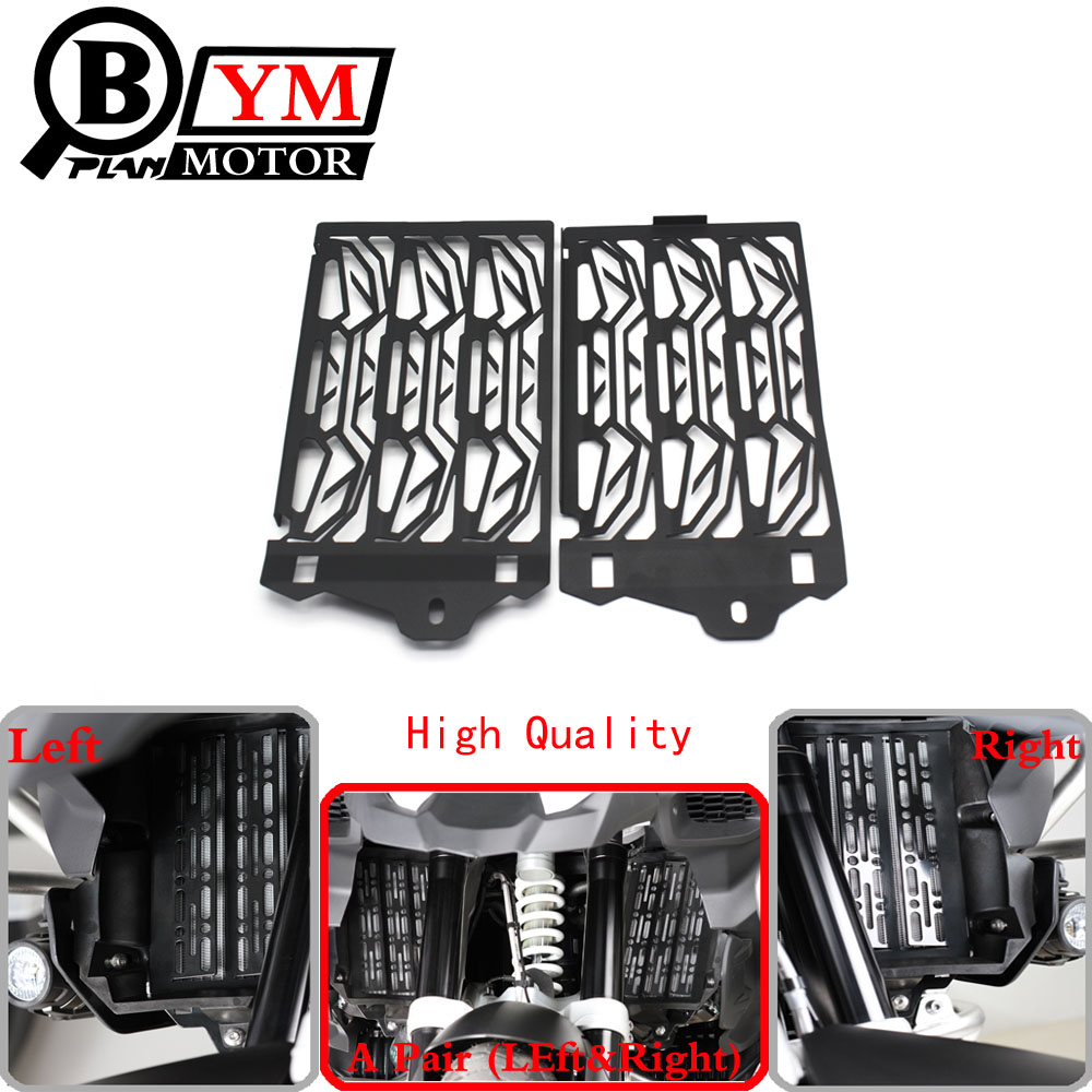 2016 New Motorcycle Radiator Guard For BMW R1200GS R1200 GS 1200GS 2013 2014 2015 2016 Free shipping motorcycle radiator grill grille guard screen cover protector tank water black for bmw f800r 2009 2010 2011 2012 2013 2014