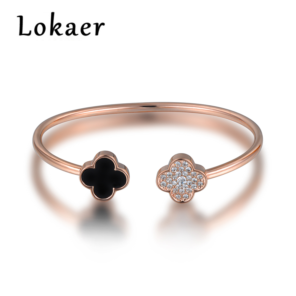 lokaer open bangles women jewelry original design classic. Black Bedroom Furniture Sets. Home Design Ideas
