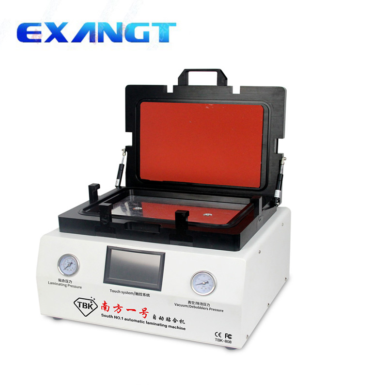 TBK-808 LCD Touch Screen Repair Automatic Bubble Removing Machine OCA Vacuum Laminating Machine with automatic lock gas портал сайт