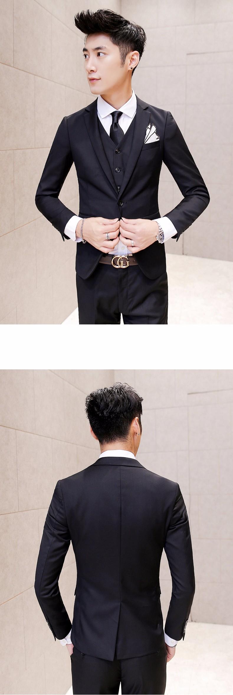 black gold suits
