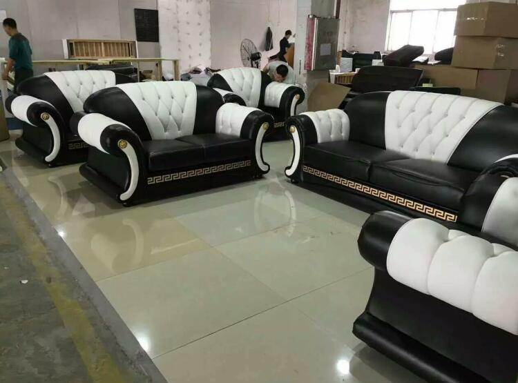 Sofa Set Living Room Furniture With Genuine Leather Corner Sofas Modern Designs In From On Aliexpress