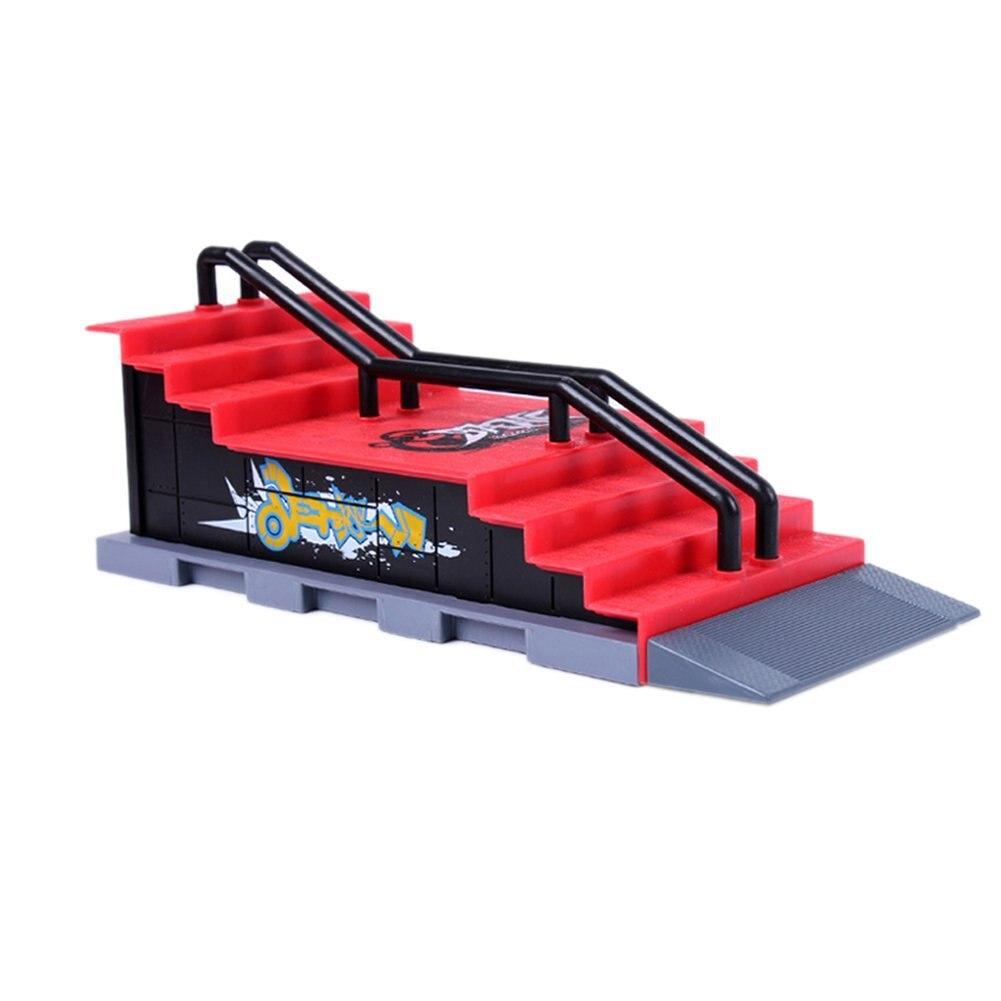 Skate Park Ramp Parts for Deck Fingerboard Finger Board Ultimate Parks Ramp (F Style)