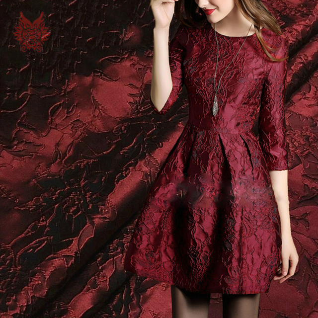 Black Dress Red Fabric