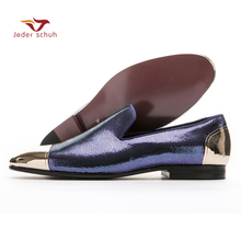 Men loafers classic fashion design style men flat shoes new shoes handmade wedding and party shoes