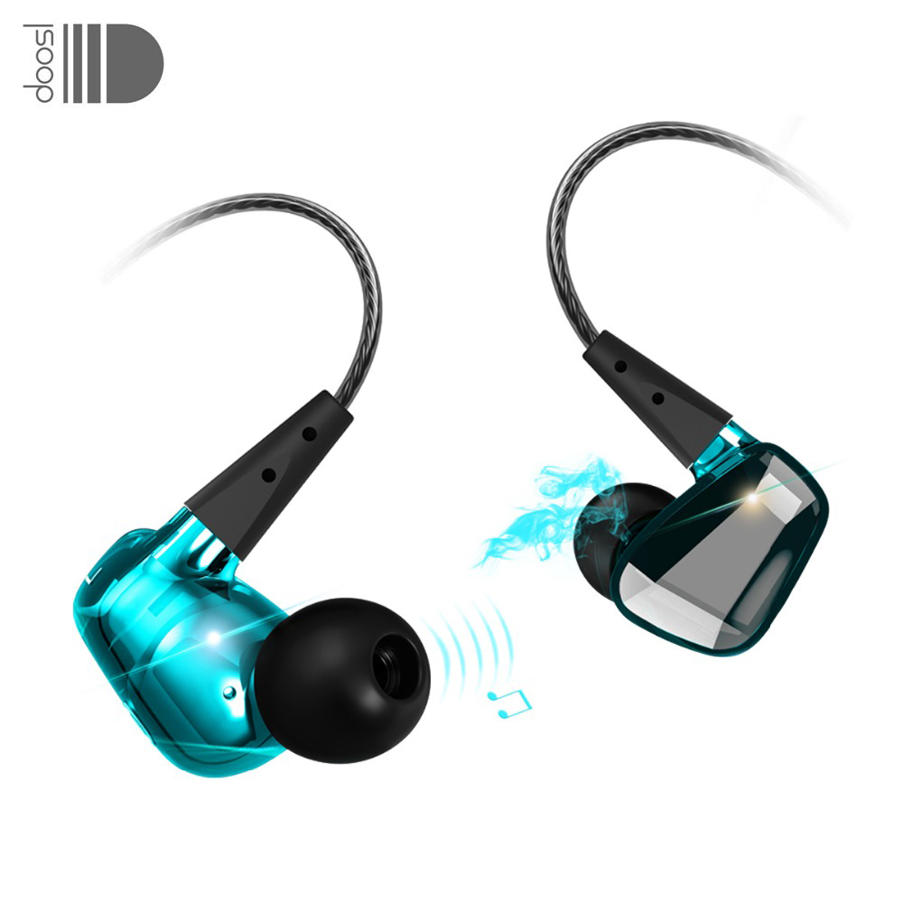 Doosl In Ear Earphones Earbuds Noise Cancelling HiFi Stereo Bass Crystal Clear Sound Ergonomic Design for ios Android Phones PC|earbuds noise cancellation|design earphone|in-ear earphone - title=
