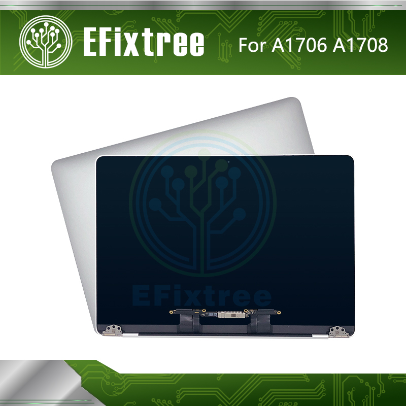 Silver Grey late 2016 mid 2017 661 05096 For Macbook Pro Retina 13 A1706 A1708 LCD