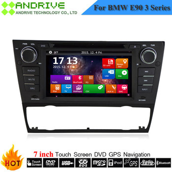 Auto Radio DVD Multimedia Player For BMW E90 E91 E92 E93 318i 320i 325i Old 3 Series With GPS Navigation System Stereo Head Unit image