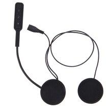 Auto Motor Wireless Bluetooth Headset Motorcycle Helmet Earphone Headphone Speakers Handsfree Music For MP3 MP4 Smartphone