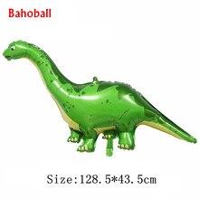1pc nowy wielki dinozaur balon foliowy dekoracja urodzinowa zabawka dla dzieci nadmuchiwany balon helowy zwierząt zoo motyw udekoruj piłkę