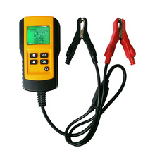 Новый портативный тестер, Автомобильный Аккумулятор, анализатор  Напряжения тока цифровой, 12V Емкость Сопротивление Cca Усилитель