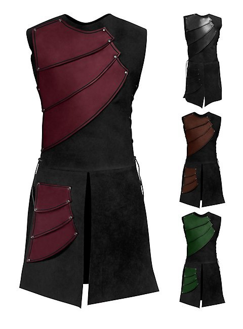 2019 New Arrival Sleeveless Collar Splicing European Clothing Men Coat