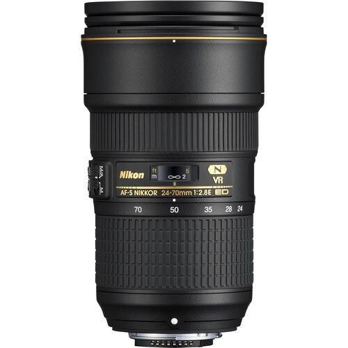 Nikon AF-S NIKKOR 24-70mm f/2.8E ED VR Lens цены онлайн