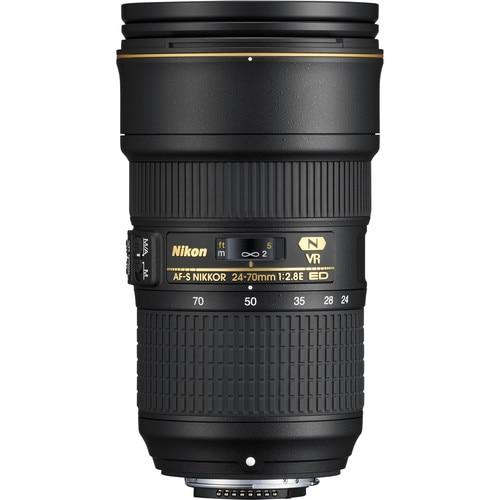 Nikon AF S NIKKOR 24 70mm f 2 8E ED font b VR b font Lens